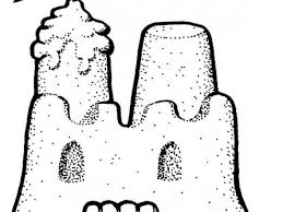 Drawing Of A Sandcastle 7