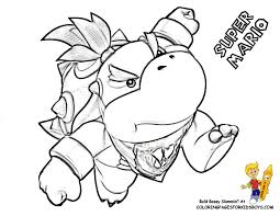 Bowser Jr Coloring Pages 15 Pictures