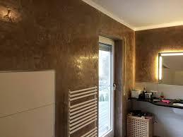 stucco veneziano on wände im badezimmer mit stucco