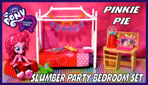 My Little Pony Bed Set by My Little Pony Equestria Girls Minis Pinkie Pie Slumber Party