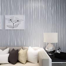 günstige solide einfache moderne mode vertikale streifen rosa grau tapete 3d stoff wohnzimmer schlafzimmer tv hintergrund wandtapete