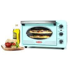 Blue Toaster Oven Nostalgia Retro Series 6 Slice Convection
