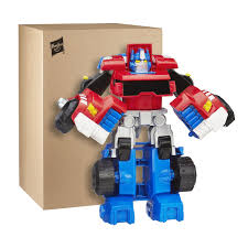 Transformers Rescue Bots Optimus Prime Tow Truck Figure ...
