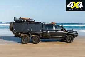 100 6x6 Truck Conversion Custom Toyota Land Cruiser 200 Review