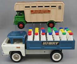 A Tri-ang Tin Plate Hi-Way Milk Truck, With Twenty Eight Plastic ... 5 Vintage Ira Wilson Dairy Milk Delivery Truck Toy Banks Detroit Solido 3506 Scale 164 Iveco Fiat Pverulent Tanker Truck Milk Matchbox Milk Truck Bedford No 29 Metalplastic Made By Studebaker M Series Model Trucks Hobbydb Cheap Find Deals On Line At Alibacom National Products For Sealtest Things You Find When Clean Or Move 60 Year Old Tanker Sideview Stock Photo Image Of Toys Green Toys Pickup Made Safe In The Usa Tin Toy Dodge Van As Seen Hot Wheels Turbine Time Semitruck Joeis Box Pink Dump Tadpole