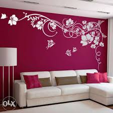 Wall Paint Designs For Living Room With Best Creative