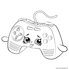 Remote Game Shopkins Season 5 Coloring Pages
