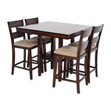 Macys Round Dining Room Sets by 73 Off Macy U0027s Macy U0027s Branton Counter Height Table With Chairs