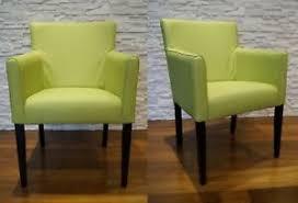 details zu grün echtleder esszimmerstühle mit armlehnen stuhl sessel esszimmer leder stühle