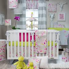 Cherry Blossom Curtain Panels by Blossom Cherry Blossom Crib Bedding Collection By Glenna Jean