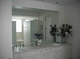 Ikea Bathroom Mirrors Canada by Large Frameless Bathroom Mirrors Easy Installation Mirror The Homy
