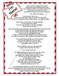 Elf on the Shelf Wel e Letter Printable