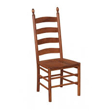 Lancaster Ladder Back Side Chair Peaceful Valley Amish Furniture