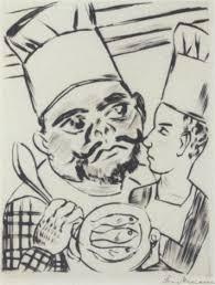 könig jerums sohn ursulus als küchenlehrling in der küche