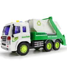 Kids Truck Model Toys ABS Material Materials Handling Truck Cleaning ...