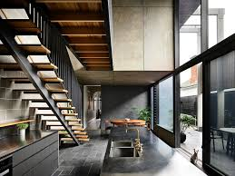 100 Terraced House Designs Gorgeous Grays And Industrial Modern Reshape Melbourne
