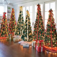 6ft Christmas Tree by Fully Decorated Artificial Christmas Trees Christmas Lights