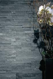 parement mural naturelle parement mural naturelle ardoise noir plaquette 15x60 cm