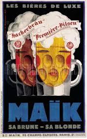 Maik Bieres De Luxe By Mercier 1929