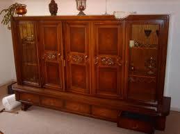 wohnungsauflösung antik wohnzimmerschrank nussbaum 207077