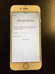 Apple Iphone 6 Gold Verizon Model A1549 16gb Icloud