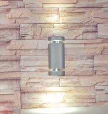 waterproof outdoor wall light wall mounted 6w 220v ip65 aluminum