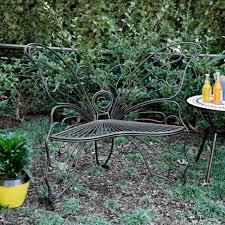 black butterfly metal patio chair kirklands