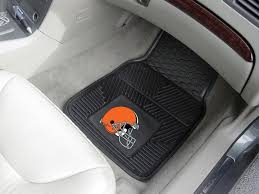Cleveland Browns 2 Pc Vinyl Car & Truck Front Floor Mats 18