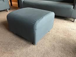 Klippan Sofa Cover Grey by Ikea Klippan Footstool In Grey In Lancaster Lancashire Gumtree