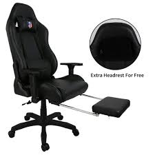 100 Big Size Office Chairs Kinsal And Tall Gaming Chair With Footrest Highback Racing