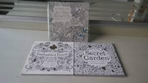 3 BOOKS LOT Ingles Edicion Secret Garden Coloring Book Reino Animal