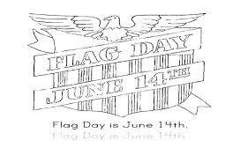 Flag Day June 14th Coloring Pages PagesFull