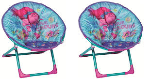 Amazon.com: Twin Pack Trolls Childrens Folding Moon Chairs ...