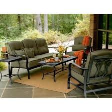 Patio Furniture Cushions Sears by Hadley 5 Pc Patio Seating Set Live Outdoors With Cool Ideas At Sears