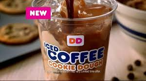 Large Pumpkin Iced Coffee Dunkin Donuts by Dunkin U0027 Donuts Cookie Dough Iced Coffee Tv Spot Ispot Tv