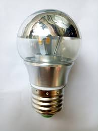 half chrome top g45 bulb 3w 5w e27 warm white light led l bulb