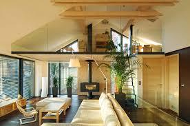 maison préfabriquée contemporaine à ossature bois à 2 étages