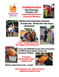 Spring Hope Pumpkin Festival 2014 by Festivals And Events 2014 U2014 Morton Grove Farmers U0027 Market