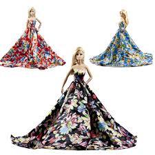 Amazoncom 1997 Mattel Barbie Doll Spring Blue Dress Pink
