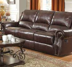 Brown Leather Power Reclining Sofa Steal A Sofa Furniture Outlet