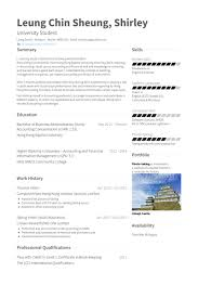 Resume Examples For Limited Work Experience 13 Fantastic Finance Intern Samples Visualcv Database