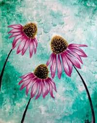 How To Paint Simple Flowers With Acrylic Paint