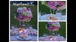 Tall Elegant Wedding Centerpiece DIY How To Create A Fit For Princess