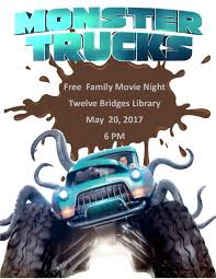 City Of Lincoln, CA : Library Calendar : Family Movie Night Im A Scientist I Want To Help You Monster Trucks Movie Go Behind The Scenes Of 2017 Youtube Artstation Ram Truck Shreya Sharma Release Clip Compilation Clipfail Mini Review Big Movies Little Reviewers Bomb Drops On Rams Film Foray Znalezione Obrazy Dla Zapytania Monster Trucks Super Cars Movie Review What Cartastrophe Flickfilosophercom Abenteuerfilm Mit Jane Levy Trailer Und Filminfos Bluray One Our Views Dual Audio Full Watch Online Or Download