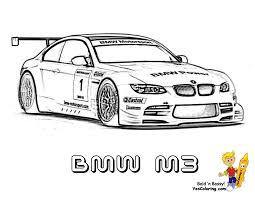Ice Cool Car Coloring Pages