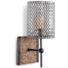 Regina Andrew Artifact Metal Oval Wall Sconce Zinc Door Rustic EleganceRustic StyleSconce