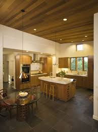 astonishing slate tile flooring with neutral colors dining