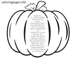 Pumpkin Prayer Coloring Pages 531