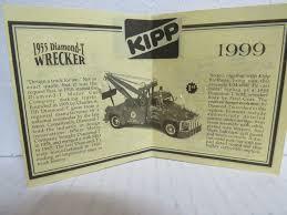 100 Diamond T Truck History Exaco 24 Hour Road Service 1955 Wrecker 134 Scale Metal