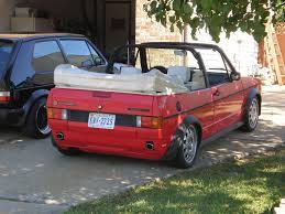 Volkswagen Cabriolet This was the best car to have at 18